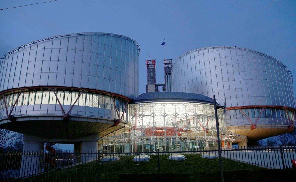 Den Europæiske Menneskerettighedsdomstol i Strasbourg er hovedorganet i Europarådet, som onsdag skal have ny generalsekretær. (Arkivfoto).