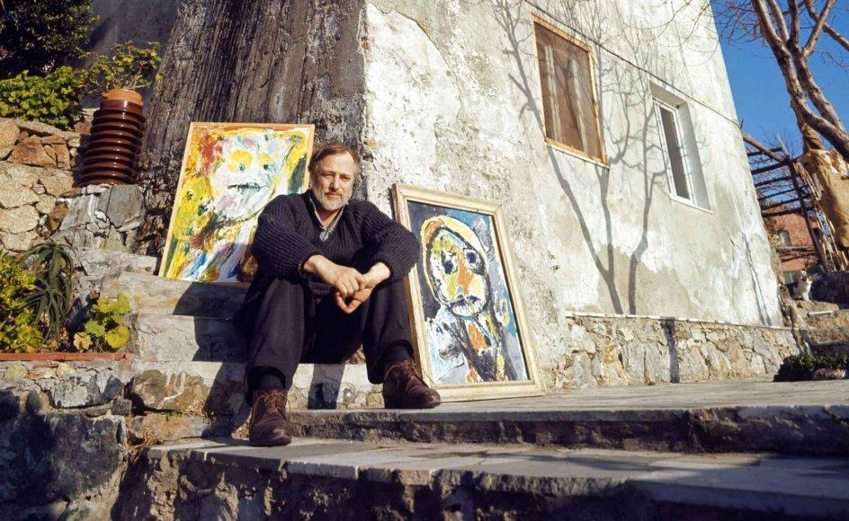 Asger Oluf Jørgensen – med kunstnernavnet Asger Jorn – blev født i Vestjylland i 1914 og døde i Aarhus i 1973.