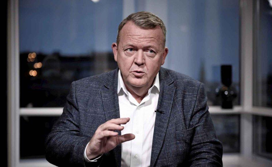 Lars Løkke Rasmussen (V) bedyrede i interview på tv, at han aldrig har deltaget i nogen fløjkrig i Venstre. –