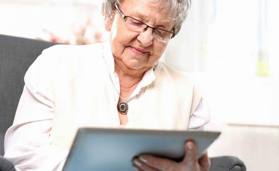 Omkring hver femte ældre over 65 år spiller til daglig digitale spil, som ud over at være afslappende også har et socialt aspekt. –