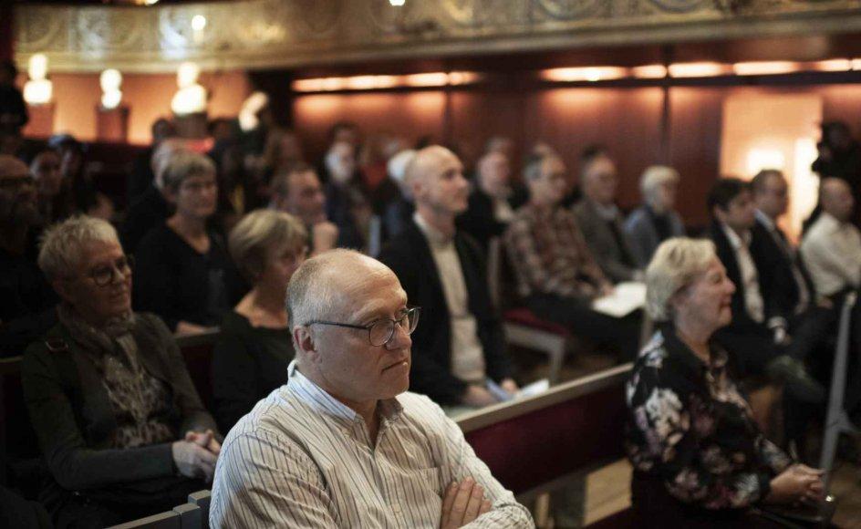 Humanistisk Samfund fejrede i går Folketingets Åbning med en ikke-religiøs ceremoni i Hofteatret.