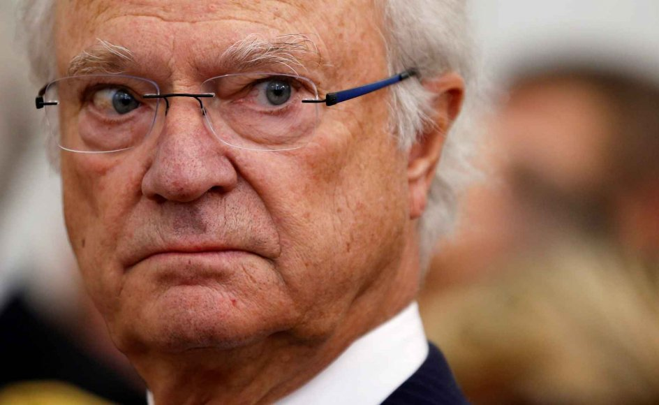 Den svenske konge, Carl Gustaf, har besluttet, at fem af hans børnebørn ikke længere er en del af kongehuset. De er dog fortsat en del af den kongelige familie.  (Arkivfoto)