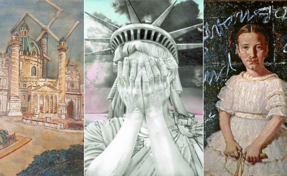 Udstillingen vil nå (for) meget. Der er mange historiske kontekster at forholde sig til, både kunstnerisk og politisk.