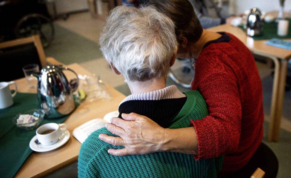 Klippekortet er en halv times ekstra hjælp om ugen til en selvvalgt aktivitet for beboere på plejehjem og de svageste hjemmehjælpsmodtagere.