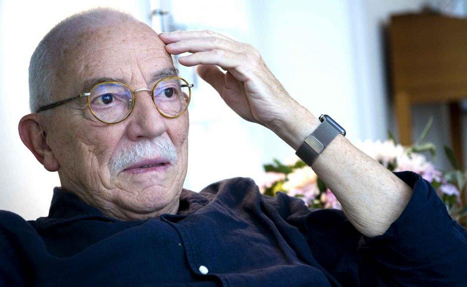 Uffe Ellemann-Jensen, her i sit hjem i Hellerup, har oplevet mange store begivenheder i sin tid. Ikke mange kommer op på siden af Murens fald i november 1990, som åbnede døren til Europas genforening og kommunismens sammenbrud.