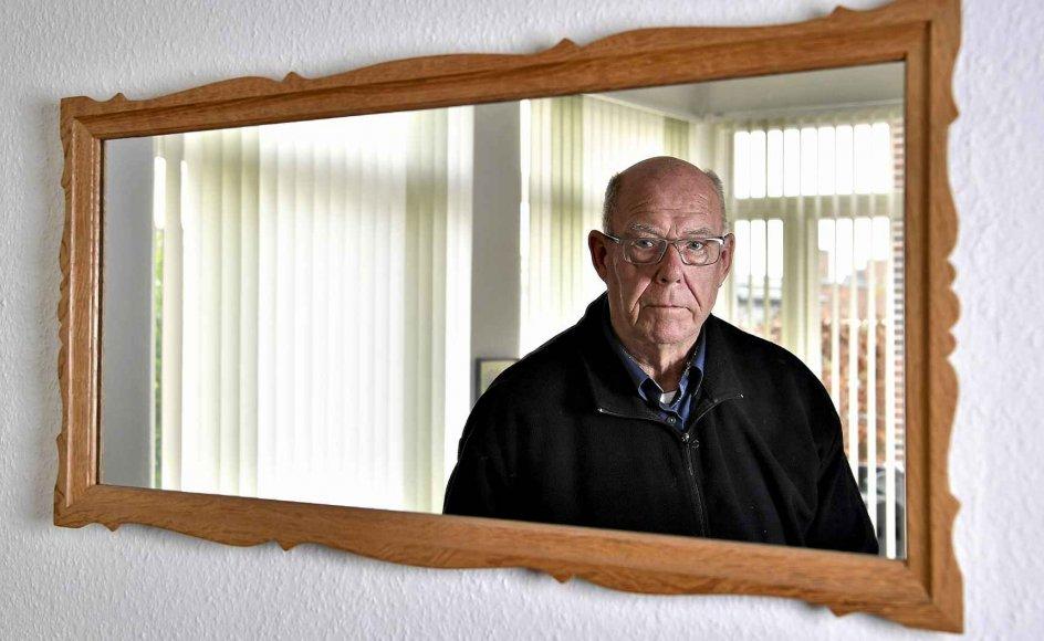 Det har været nødvendigt for 78-årige Leon Frank at kigge langt bagud for at forstå både sit eget og faderens liv. – Foto: Ernst van Norde/Ritzau Scanpix.