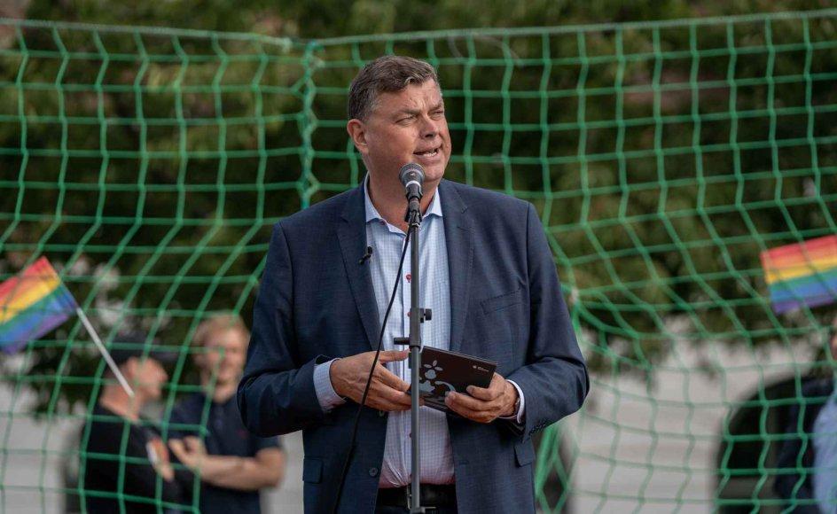 Ligestillingsminister Mogens Jensen vil afvente og se, om omvendelsesterapi bliver et problem i Danmark. Foto: Niels Christian Vilmann/Ritzau Scanpix