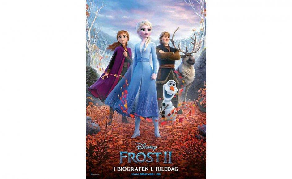 """Alle de kendte og elskede karakterer er tilbage i """"Frost 2""""."""