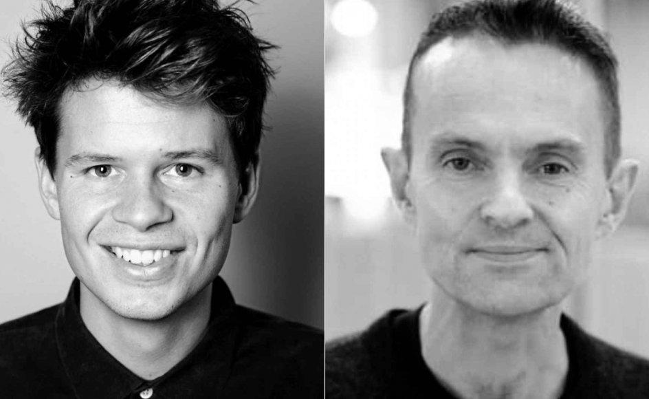Jesper Aagaard og Neil Selwyn.
