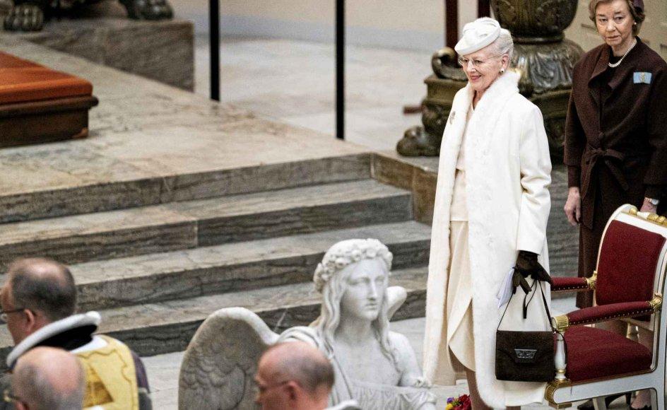 Dronning Margrethe deltog søndag i fejringen af Sønderjyllands genforening med Danmark. Så sent som i september sidste år besøgte hun det danske mindretal i Sydslesvig, hvor især de unges tilknytning til Danmark berørte hende dybt. –