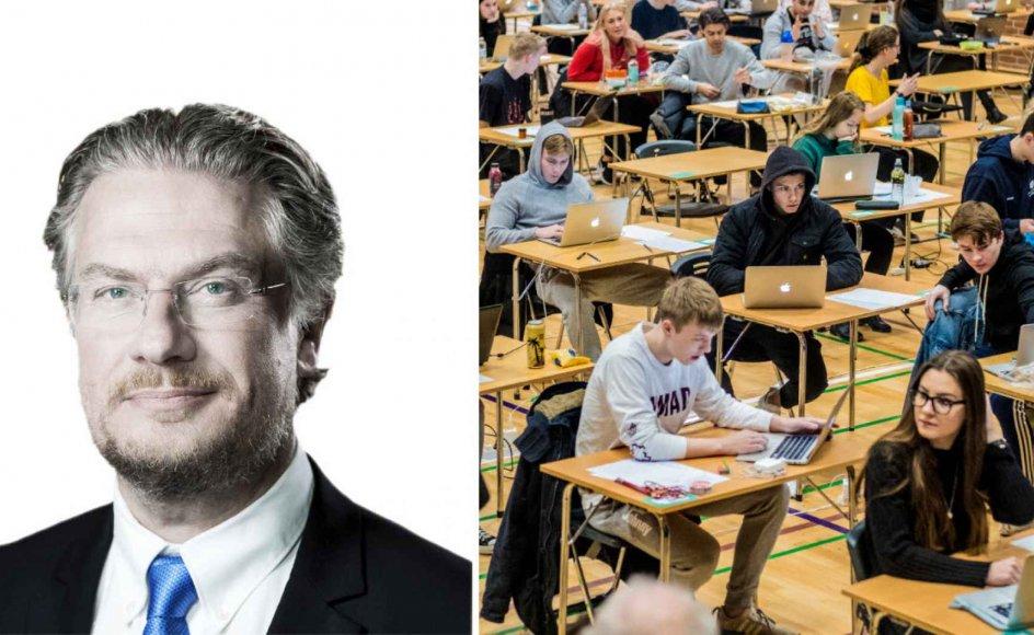 Det er forbavsende, at der er disciplinproblemer i gymnasierne, når det er frivilligt at gå der, mener Henrik Dahl (LA).