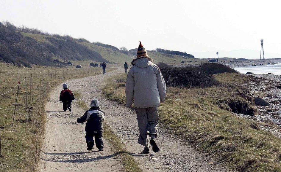 """""""At blive forældre skaber nye vilkår som par. Nogle kan opleve, at det skaber større nærhed som par at få et lille barn, og andre kan opleve, at det kan skabe distance,"""" skriver Lisbeth Andreassen Ryelund fra Folkekirkens Familiestøtte. – Arkivfoto: Leif Tuxen."""