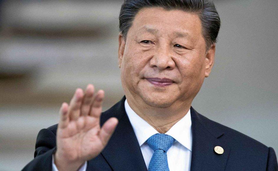 Coronavirussen har skabt sprækker i kinesernes tillid til landets præsident, Xi Jinping. – Foto: Pavel Golovkin/Reuters/Ritzau Scanpix.