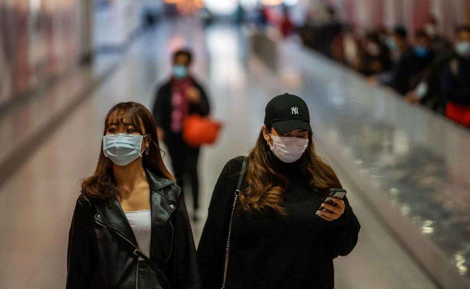 Coronavirussen udbrød i den kinesiske by Wuhan i december 2019. Den har siden spredt sig til mere end 55 lande.