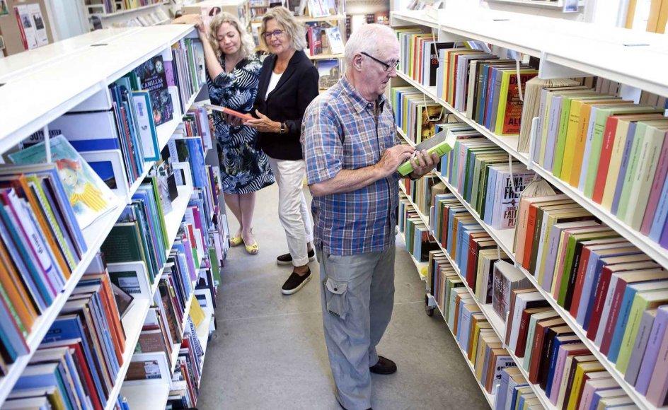 I dag er det 100 år siden, at Folketinget vedtog den første bibliotekslov. – Arkivfoto: Leif Tuxen.