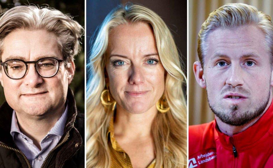 Tidligere minister Søren Pind (V), formand for Nye Borgerlige Pernille Vermund og fodboldspiller Kasper Schmeichel har alle reageret på de seneste tiltag mod udbredelsen af coronavirus.