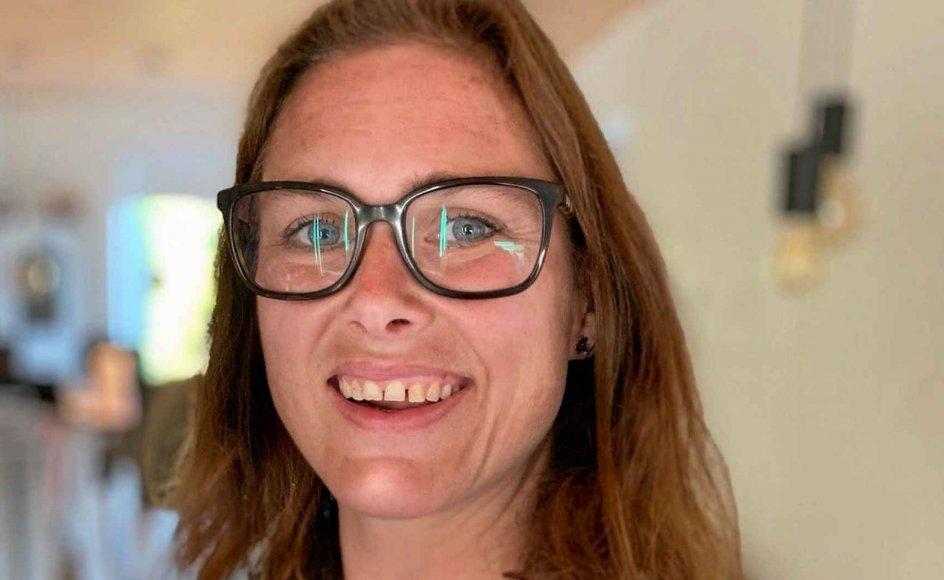 Som skolelærer er Kathe Løvrig Hansen sendt hjem, så nu tilbyder hun andre at passe deres børn. – Privatfoto.