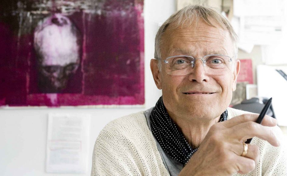 """Professor, dr. phil. Ole Thyssen, deltager i Kristeligt Dagblads format """"Etisk sagt"""". – Foto: Leif Tuxen."""