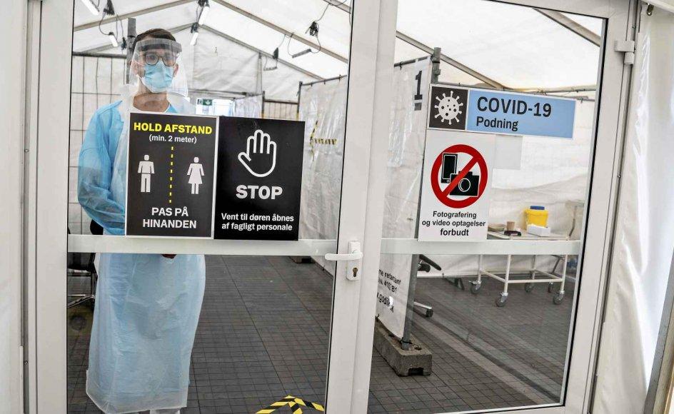 """Med corona-håndteringen er vi ifølge Thomas 0Aastrup Rømer på vej mod en """"biostat"""", hvor alle statslige funktioner underordnes den samme sundhedslogik. Og det er farligt, mener han. Foto:"""