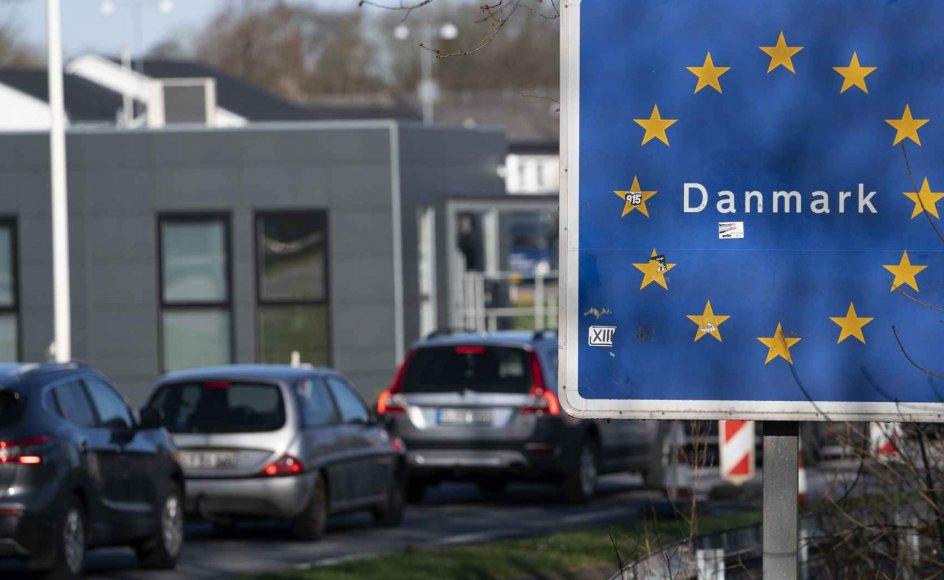 Den danske grænse har været lukket for turister siden 14. marts. (Arkivfoto)