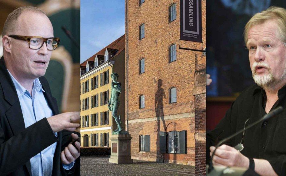 Rasmus Nordqvist (SF) og Christian Juhl (EL) er begge positivt stemt over for nyt museum for kolonihistorie. Det samme er Venstre, mens De Konservative også gerne tager en debat om muligheden for et museum.