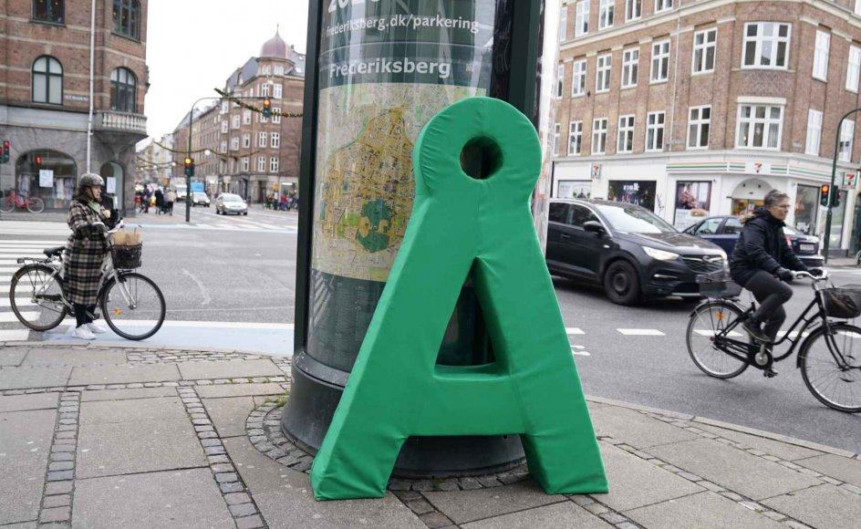 Alternativet mister sit eneste byrådsmedlem i Aarhus Kommune, da Liv Gro Jensen skifter til SF. Billedet her er i øvrigt ikke fra Aarhus, men København. (Arkivfoto)