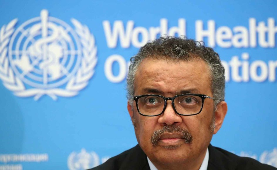 Verdenssundhedsorganisationens (WHO) generaldirektør, Tedros Adhanom Ghebreyesus, kalder coronapandemien for den klart mest alvorlige sundhedskrise, som organisationen har stået over for.