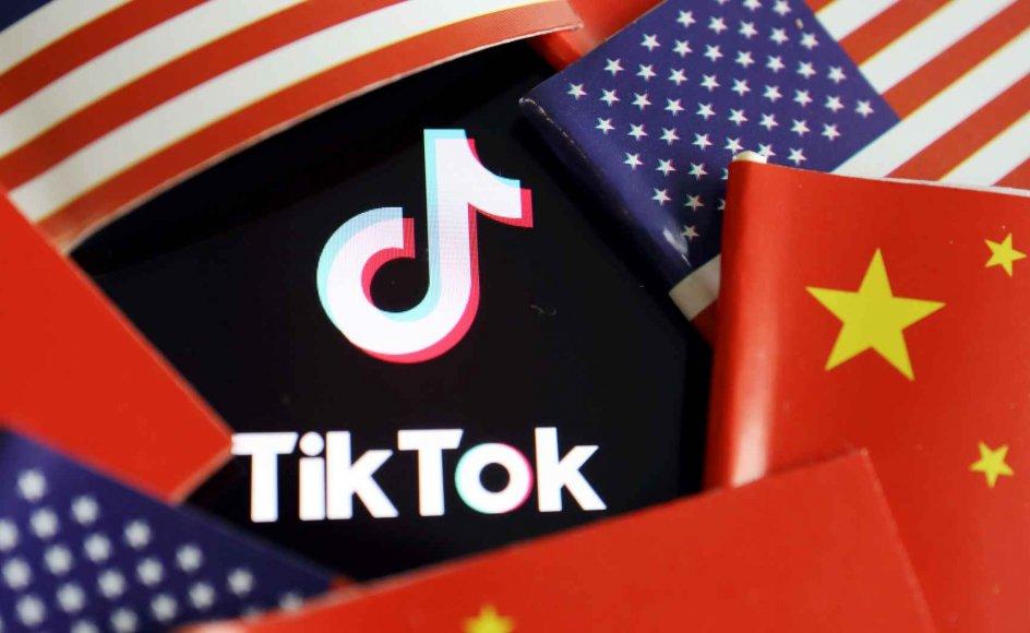 USA beskylder den kinesiske videoapp TikTok for at stjæle og bruge data fra de brugere, der downloader appen. (Arkivfoto)