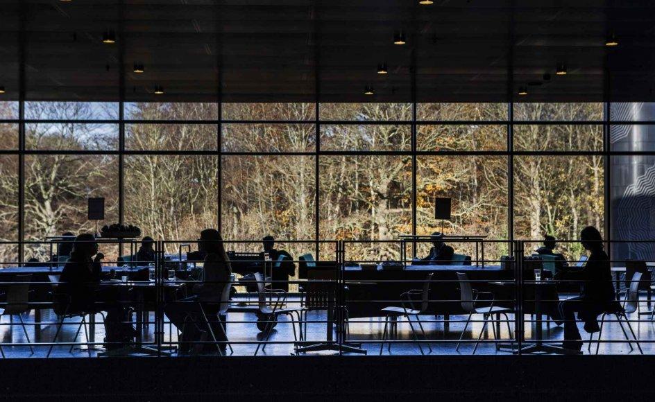 Universiteterne kommer i stort omfang til at regulere, hvornår og hvor længe studerende opholder sig på universitetets område. Forskudte mødetider bliver et af værktøjerne. (Arkivfoto)