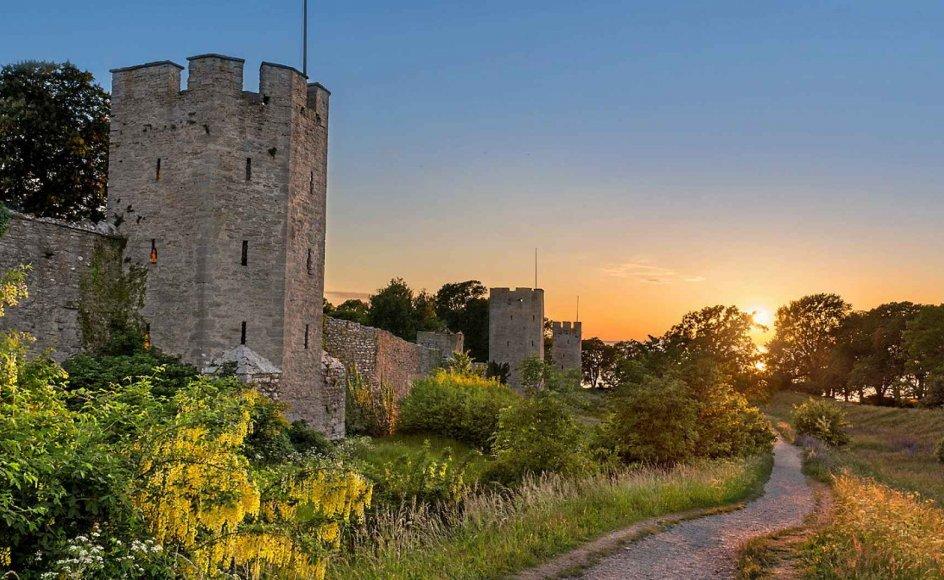 På denne læserrejse besøges Gotlands flotte natur og ejendommelige rauker samt historiske steder som for eksempel den Unesco-bevarede middelalderby Visby. Der er vandringer i forskellige grupper og længder i både natur og byer. – Foto: Mols Rejser.