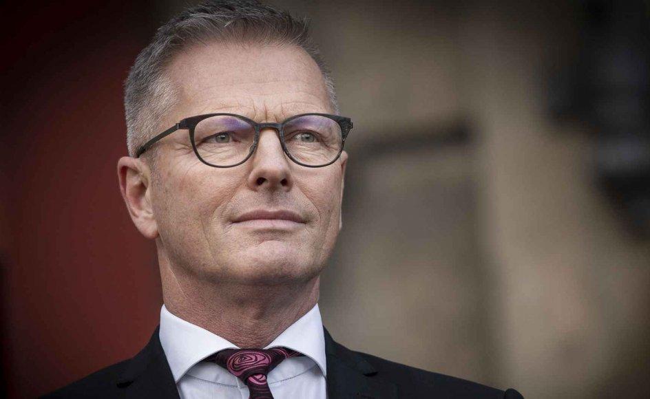 Flemming Møller Mortensen (S) er ny minister for udviklingssamarbejde og nordisk samarbejde.