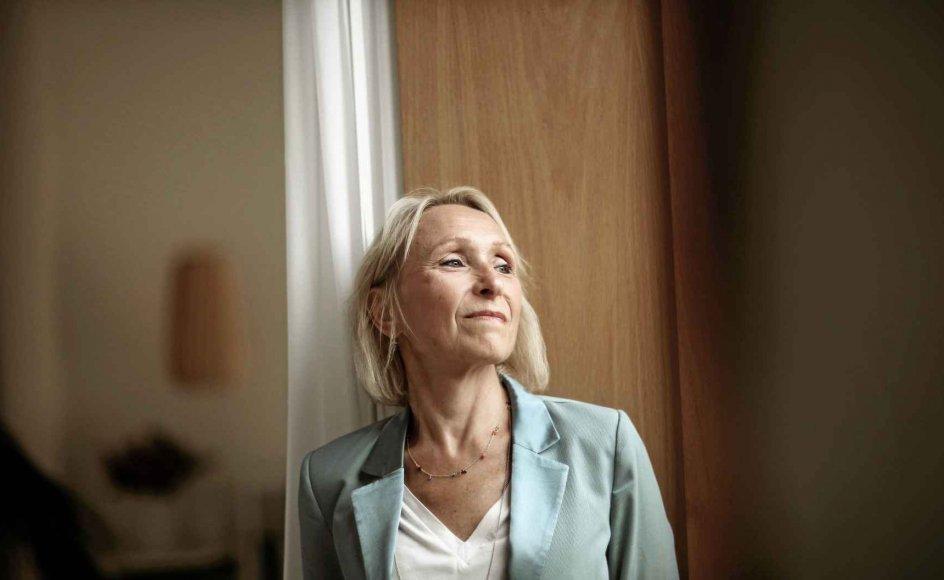 Anne Mette Fugleholm (født i 1961) er direktør for Diakonissestiftelsen på Frederiksberg, hvor hun også bor med sin mand. Tilsammen har parret fire voksne børn. – Foto: Morten Langager.