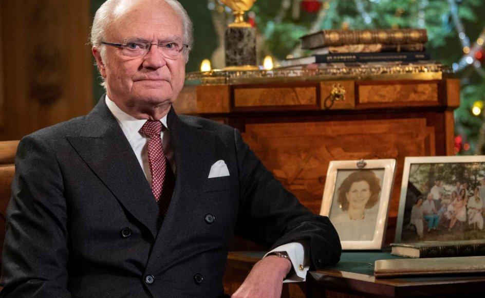 Det er mislykkedes for os at redde liv under pandemien, siger Sveriges konge, Carl Gustaf, i interview til svensk tv. (Arkivfoto)