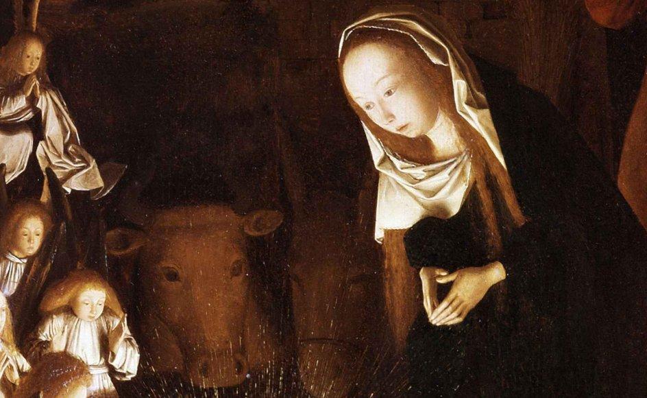 Med Jesu fødsel skete det nye: At mennesket fik del i Guds kærlighed uden at skulle gøre sig fortjent dertil. Det forandrede mennesker og samfund. Illustration: Tweedy/Shutterstock/Ritzau Scanpix