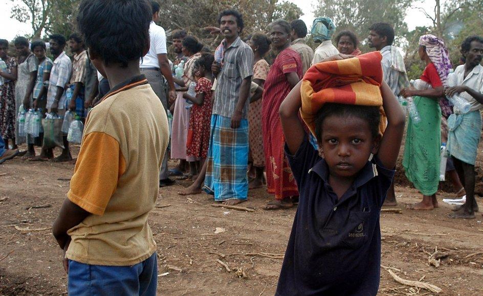 NGO'en har svigtet tusindvis af fattige og underernærede srilankanske børn og ført sponsorerne bag lyset, viser det norske fagblad Bistandsaktuelts kulegravning. Arkivfoto: Ho/Reuters/Ritzau Scanpix