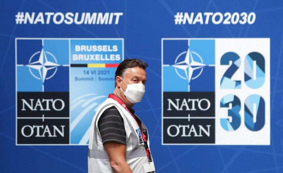 Mandag indledes Natos topmøde for stats- og regeringsledere i Bruxelles.