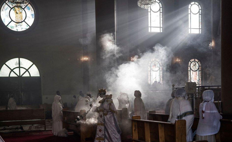 For første gang nævnes konkret kampen for religionsfrihed og støtte til trosbaserede aktører i de lande, Danmark støtter med udviklingsbistand. Her ses Medhanialem Kirken i Etiopiens hovedstad, Addis Ababa.