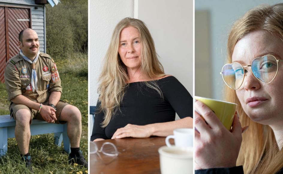 Christian, Jannie og Maria har alle en psykisk lidelse. Stik mod al forventning har de oplevet at få det bedre under nedlukningen af Danmark.