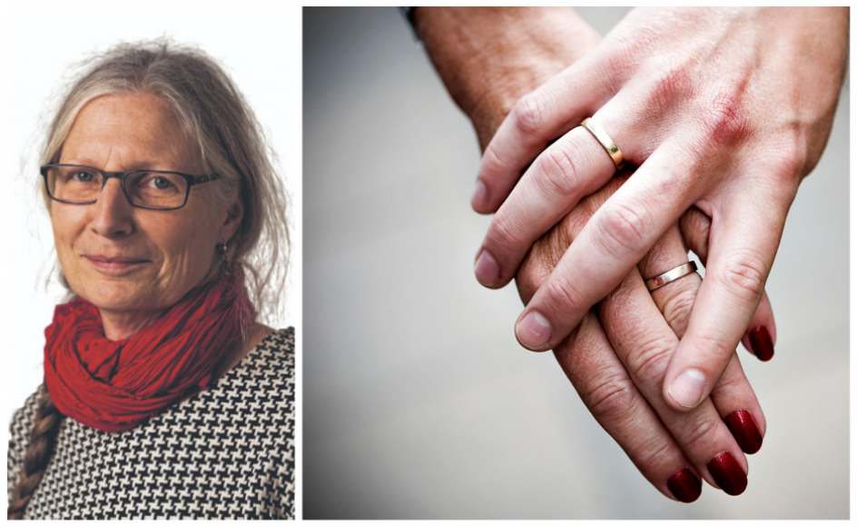 """""""Det er det min bryllupstale skal handle om: den store betydning, det har at have et dejligt menneske tæt i sit liv, som man har delt så megen sorg og glæde med.""""- Foto: Rune Evensen/Ritzau Scanpix"""