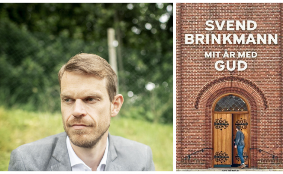 """Psykologiprofessor Svend Brinkmanns nye bog, """"Mit år med Gud"""", lægger op til værdifulde samtaler."""