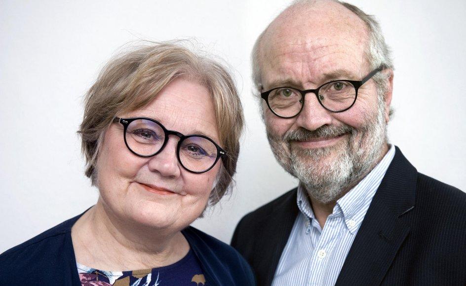 Psykolog og familieterapeut Annette Due Madsen og overlæge og psykiater Jørgen Due Madsen.