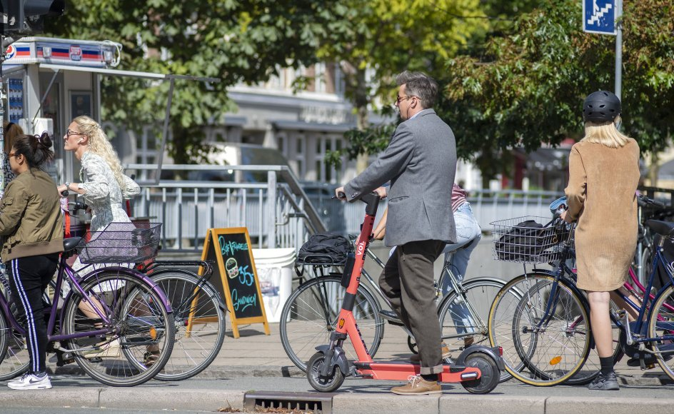 Frem til den 6. september 2020 blev der på skadestuen på Odense Universitetshospital registreret 22 personer med skade efter brug af el-løbehjul.
