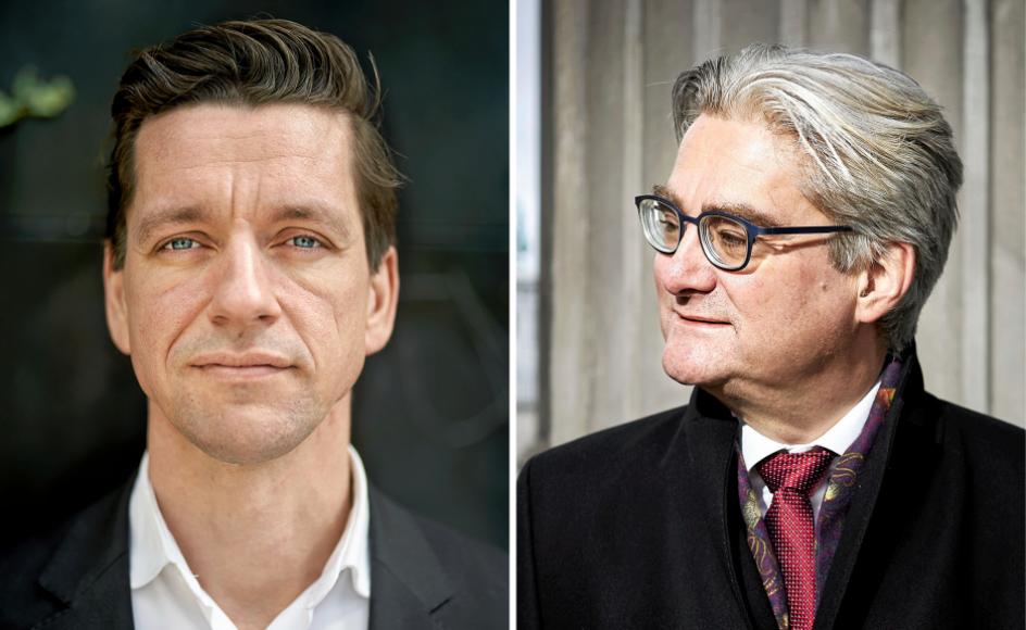 Indenrigs- og boligminister Kaare Dybvad Bek (S) og tidligere justitsminister Søren Pind (V) er blandt de centrale aktører i den idépolitiske debat om Generation 89.