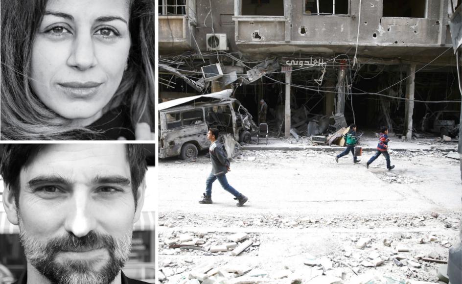Dansk-syriske Saadou Mourched hævder i et tidligere indlæg i Kristeligt dagblad, at Damaskus-regionen er sikker for syrere at rejse til. Bassam Khabieh/Reuters/Ritzau Scanpix