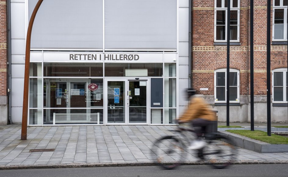 Det var i Retten i Hillerød, at præst Thomas Gotthard tilstod drabet på sin hustru.