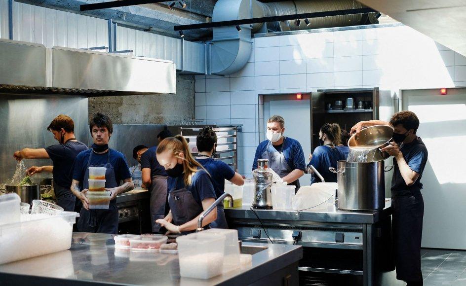 Restaurant Noma får tre michelinstjerner mandag den 13 september 2021. Billedet her er taget den 31. maj.