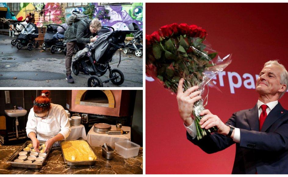 Arbejdsmarkedets parter er enige om en ny barselsmoden, Socialdemokraterne vinder valg i Norge, og så får Danmark rekordmange Michelinstjerner.