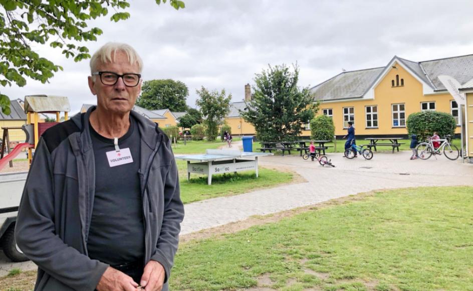 """Det var bekymringen om, hvad tiden skulle gå med, der fik Kjeld Boitang til at trække den lidt, før han gik på pension. """"Nu er bekymringen nærmere at finde tid nok,"""" fortæller den 77-årige frivillige, der bruger tre formiddage om ugen på at skaffe og repa"""