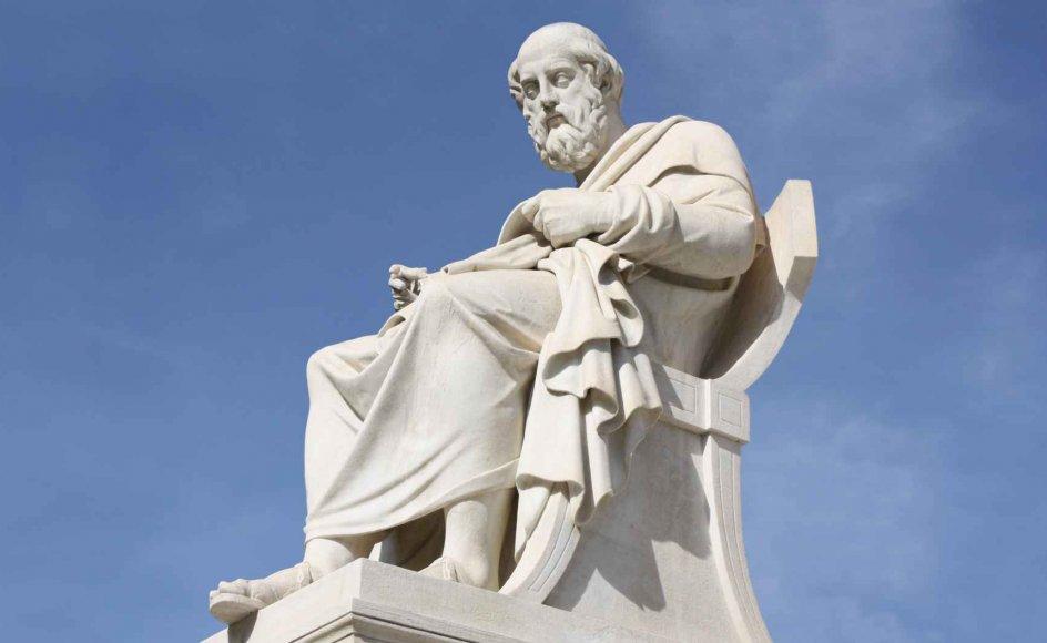 """Platons ideer om kvindernes frigørelse var så revolutionære, at ingen af hans elever – og da slet ikke Aristoteles – havde lyst til at brænde fingrene på dem,"""" siger Harald Haarmann. – Privatfoto."""