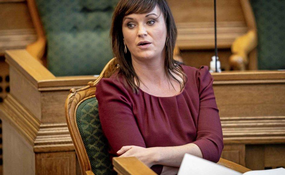 Politisk ordfører i Venstre Sophie Løhde. – Foto: Mads Claus Rasmussen/Ritzau Scanpix.